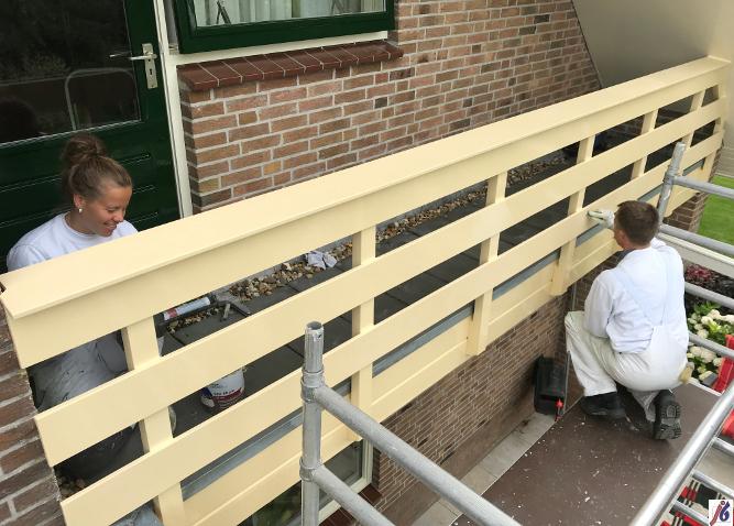 Hek van woonhuis in Berkhout,