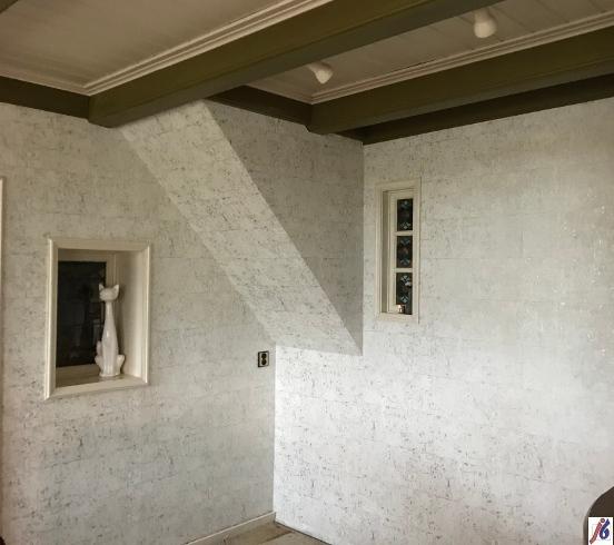 Vliesbehang, woonkamer