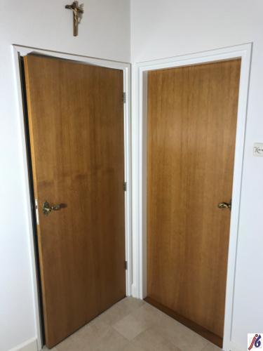 Transparante  afwerking deuren