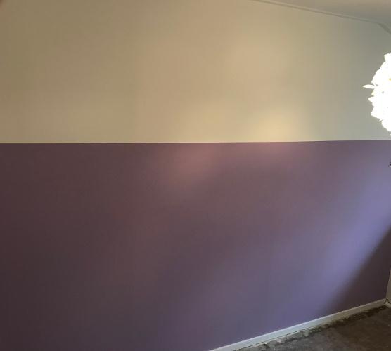 Kleurtje op de muur