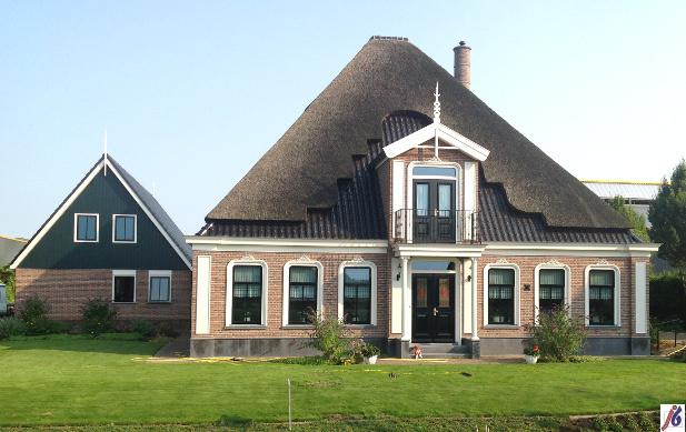 Woonboerderij op Zwaagdijk