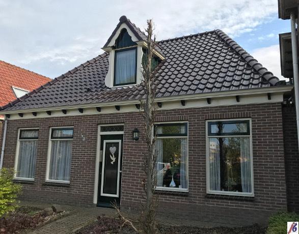 Woning op de Dorpsstraat in Wervershoof